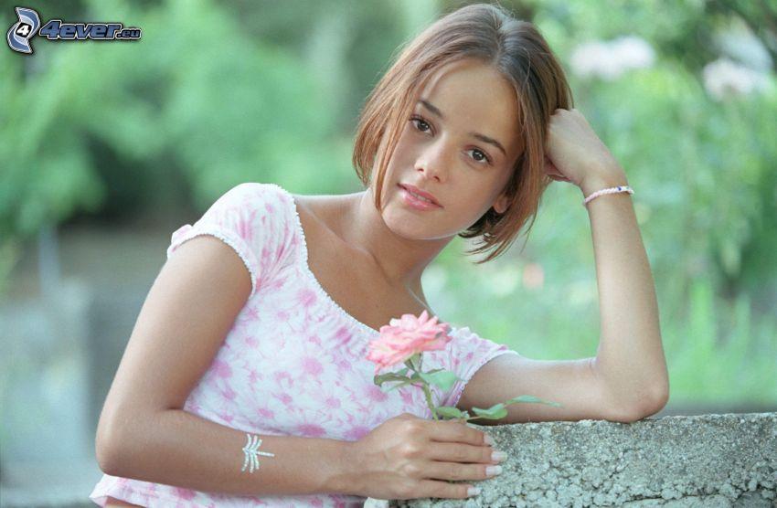 Alizée, rosa rosa