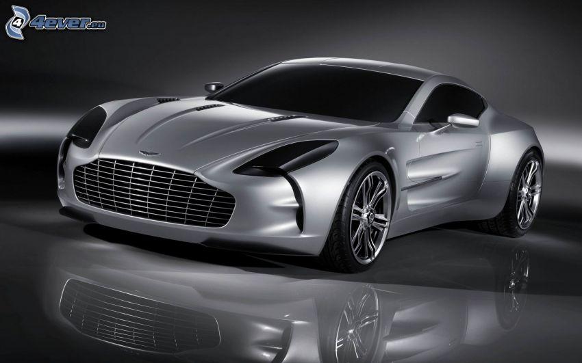 Aston Martin One 77, riflessione