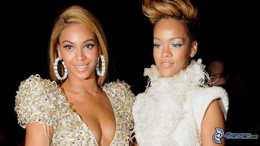 Beyoncé Knowles, Rihanna