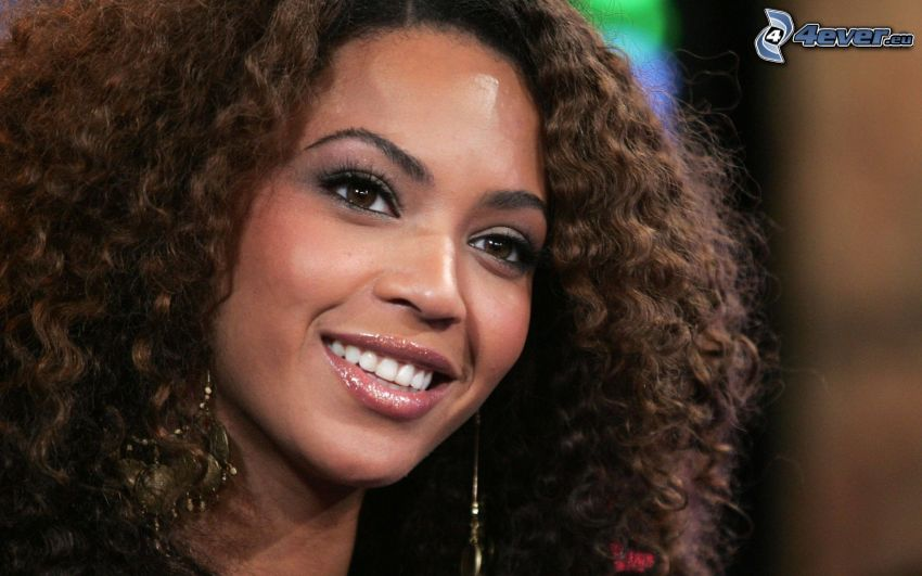 Beyoncé Knowles, sorriso, cantante