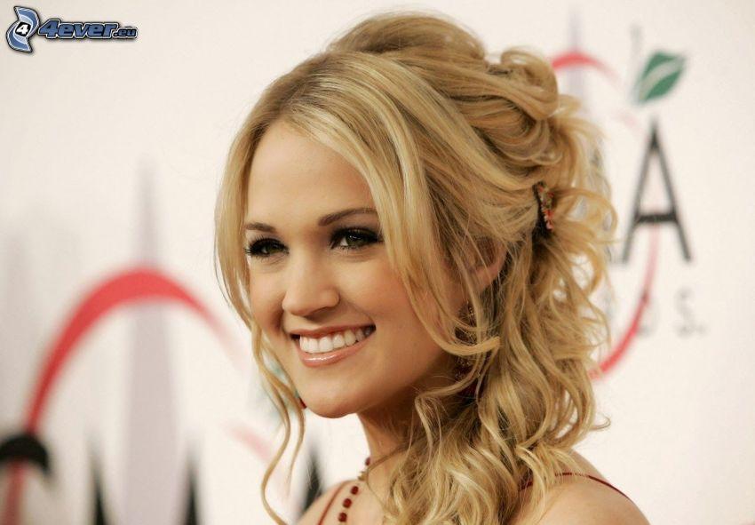 Carrie Underwood, sorriso