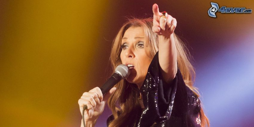 Celine Dion, canto