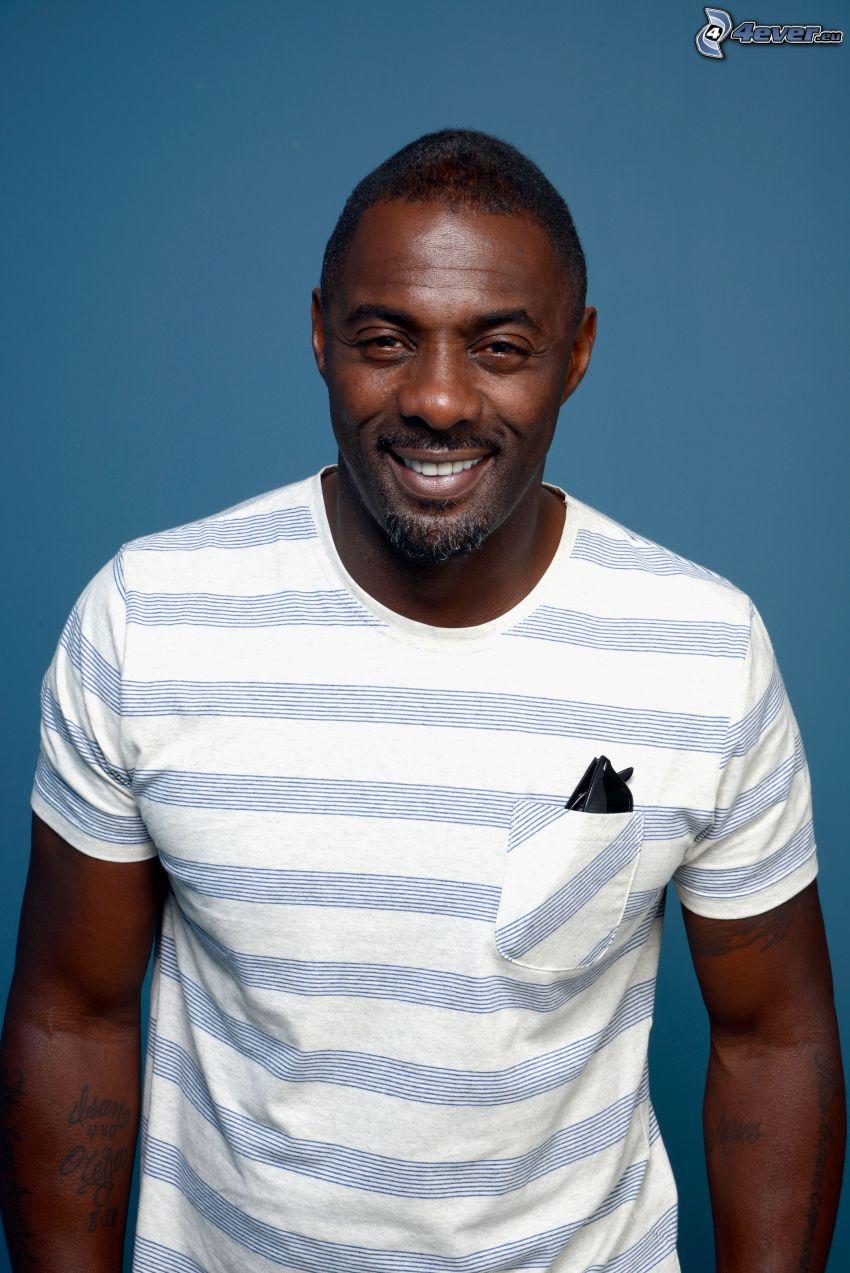 Idris Elba, sorriso