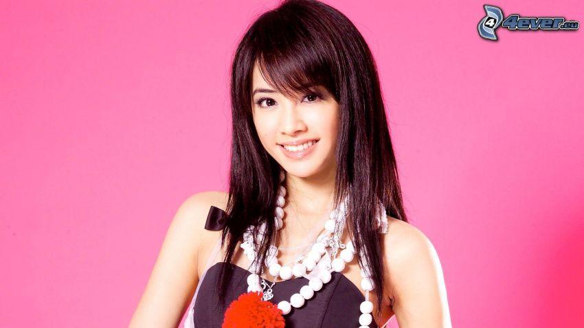 Jolin Tsai, sorriso