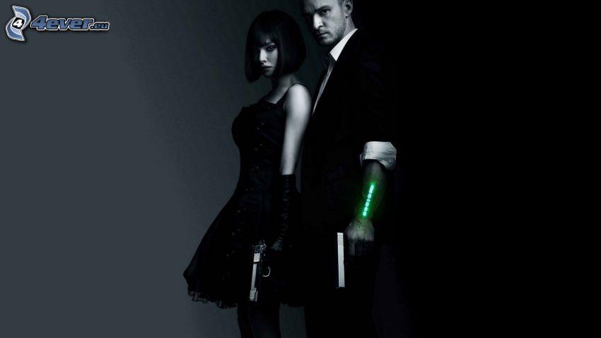 Justin Timberlake, Beyoncé Knowles, pistola