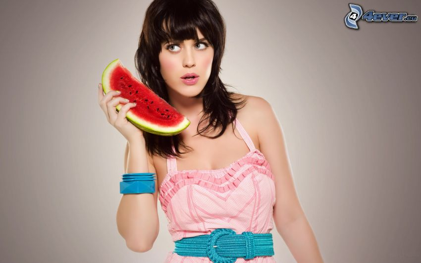 Katy Perry, cocomero