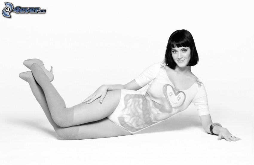 Katy Perry, foto in bianco e nero