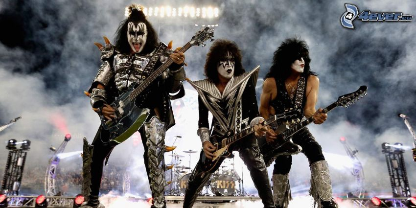 Kiss, concerto