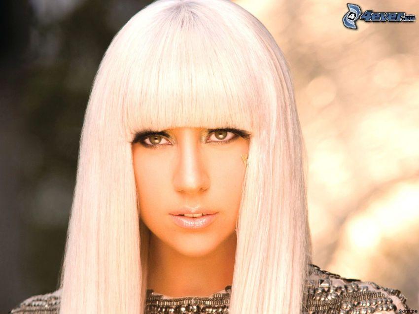 Lady Gaga, bionda, capelli