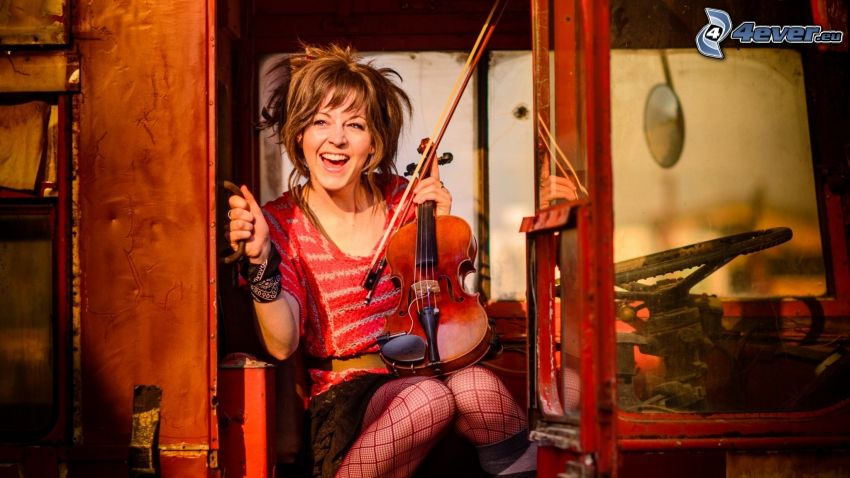Lindsey Stirling, violinista