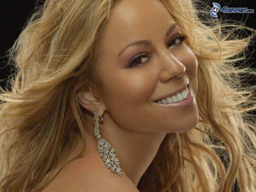 Mariah Carrey, cantante, sorriso