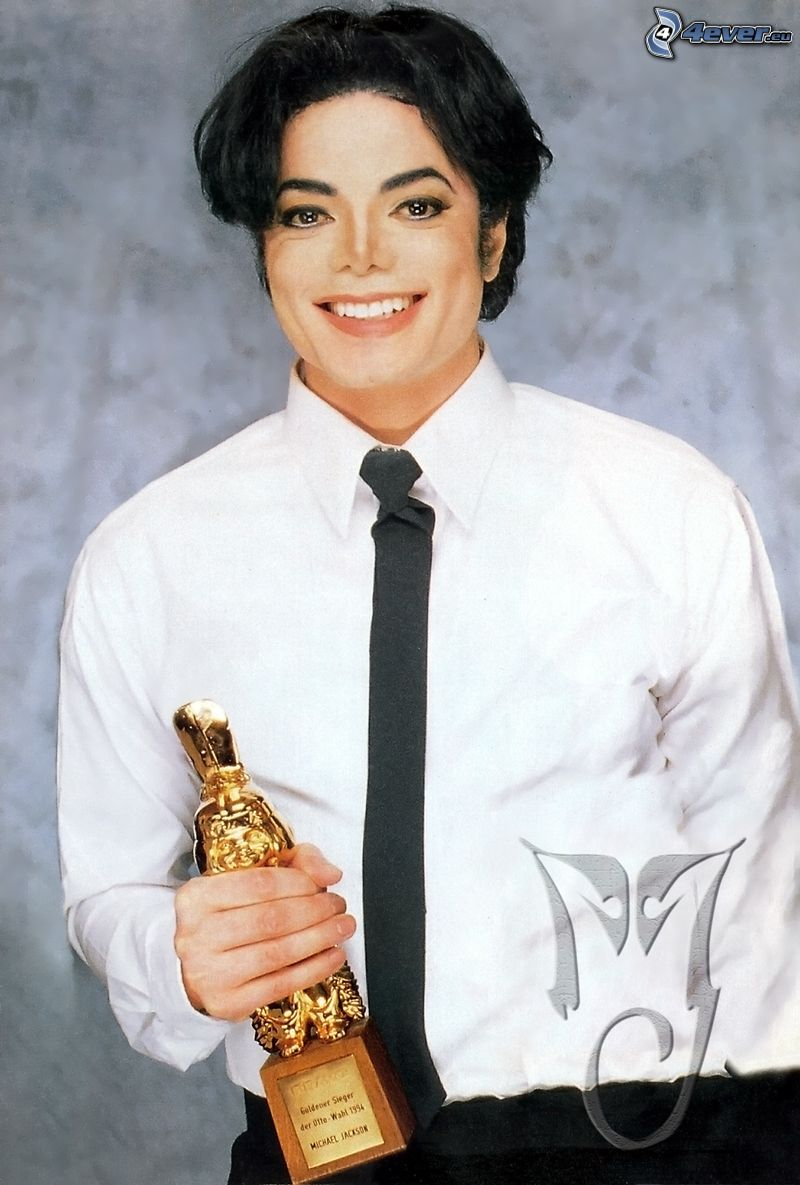 Michael Jackson, sorriso, premi