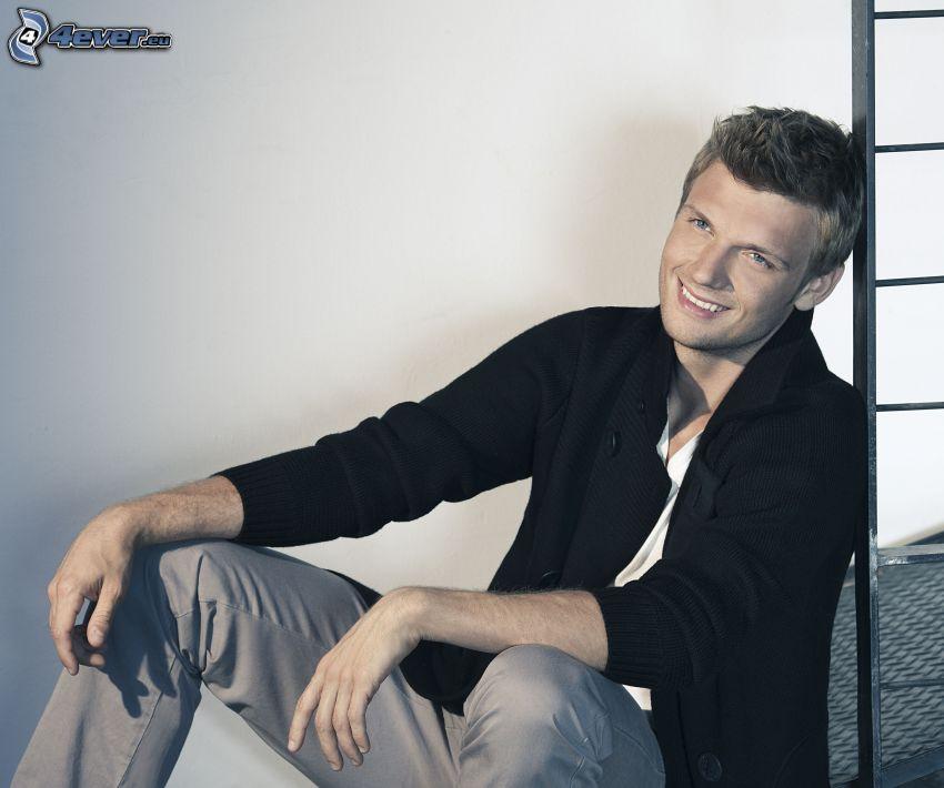Nick Carter, sorriso