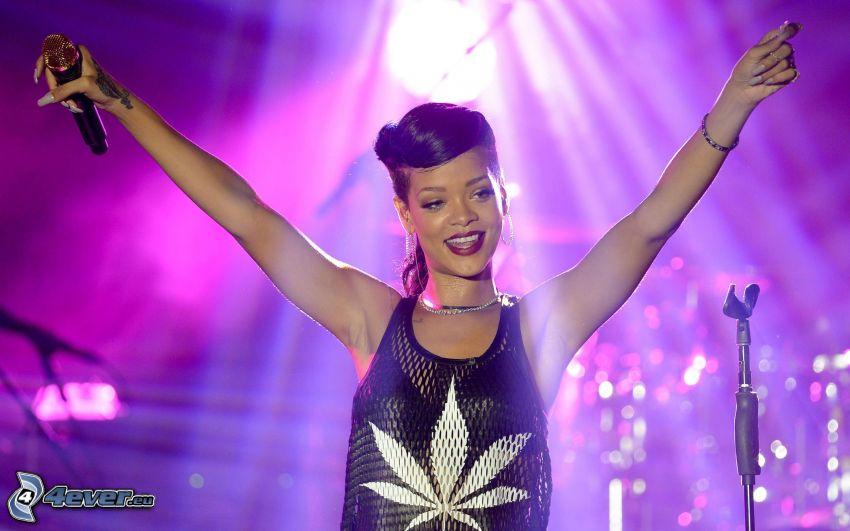 Rihanna, comparsa