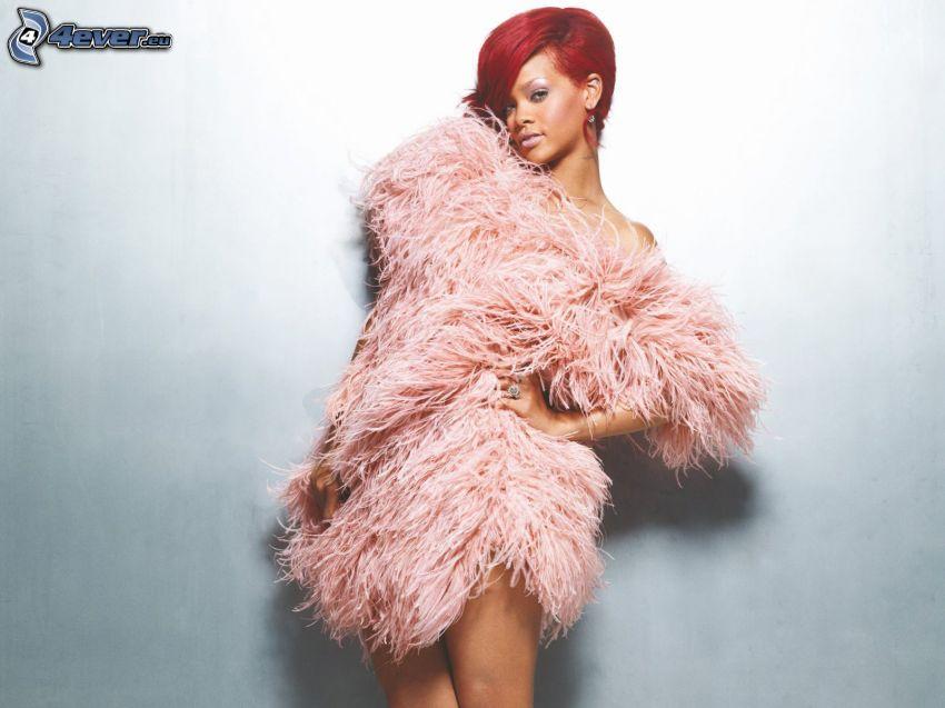 Rihanna, pelliccia