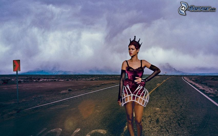 Rihanna, strada