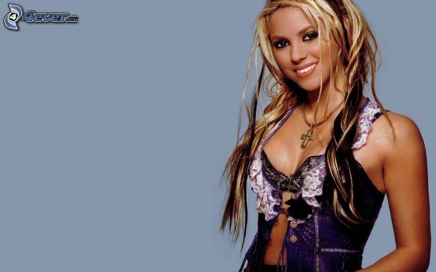 Shakira, sorriso