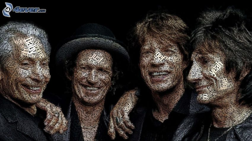 The Rolling Stones, mosaico