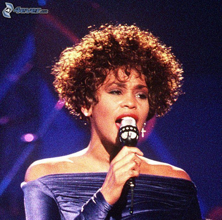Whitney Houston, canto