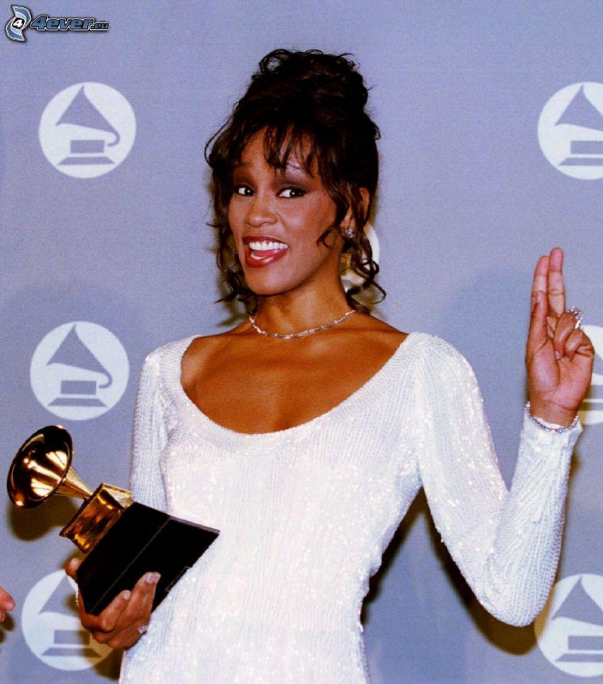 Whitney Houston, grammofono d'oro