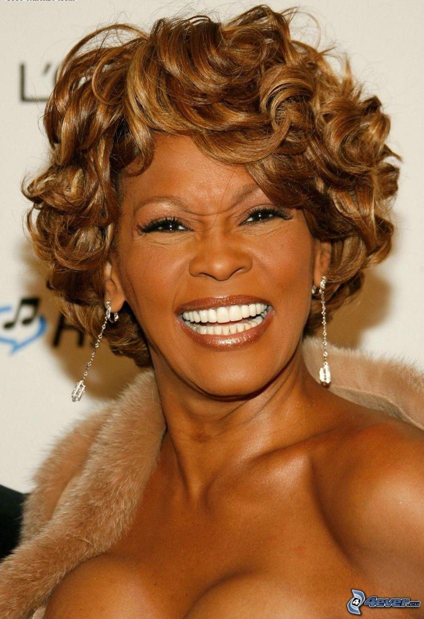 Whitney Houston, sorriso