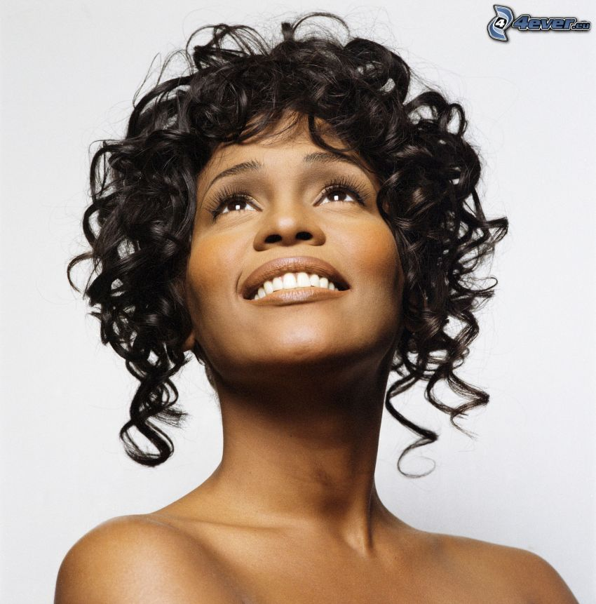 Whitney Houston, sorriso