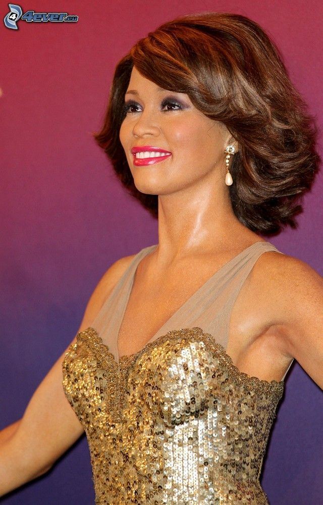 Whitney Houston, statua di cera