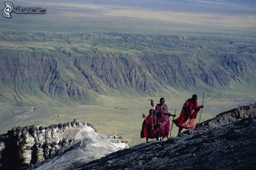 negri, turismo, Mountain of God, montagne