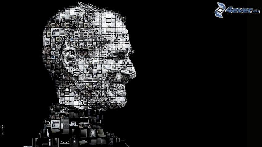 Steve Jobs, mosaico