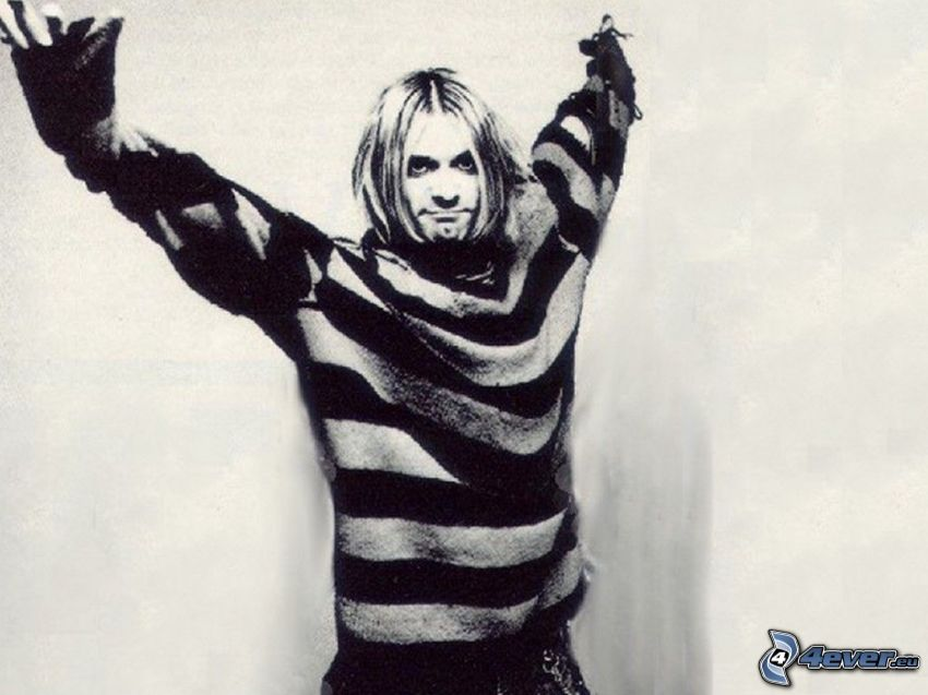 uomo, modello, maglione