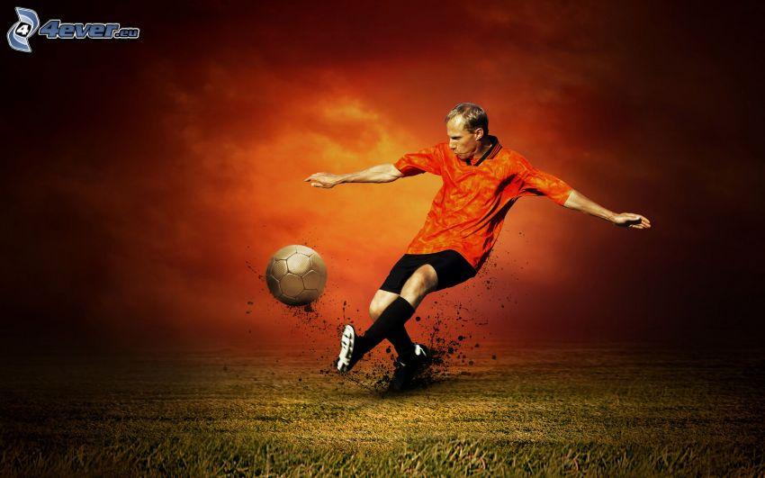 calcio, calciatore