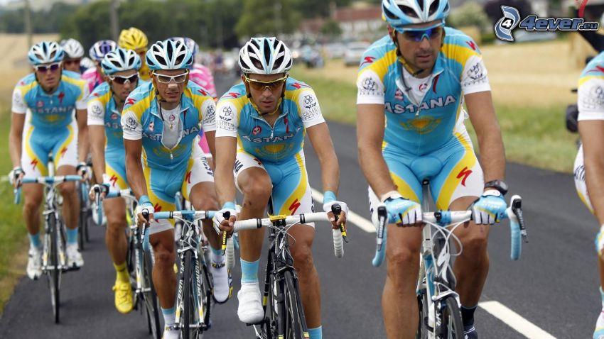 Tour De France, ciclisti, gareggiatori, strada