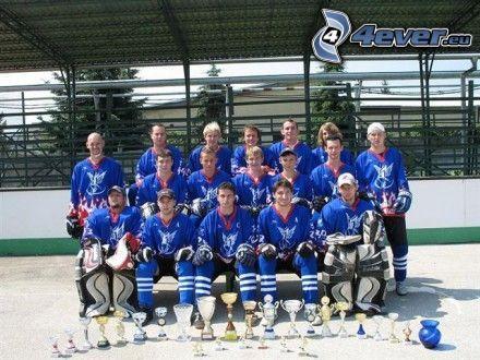 giocatori di hockey