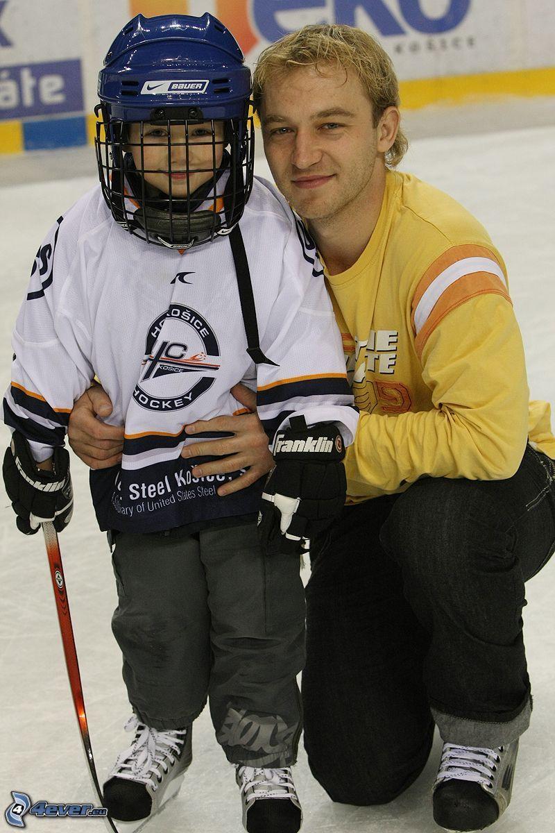 hockey, bambino