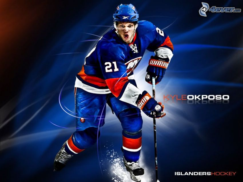 Kyle Okposo, New York Islanders, giocatore di hockey