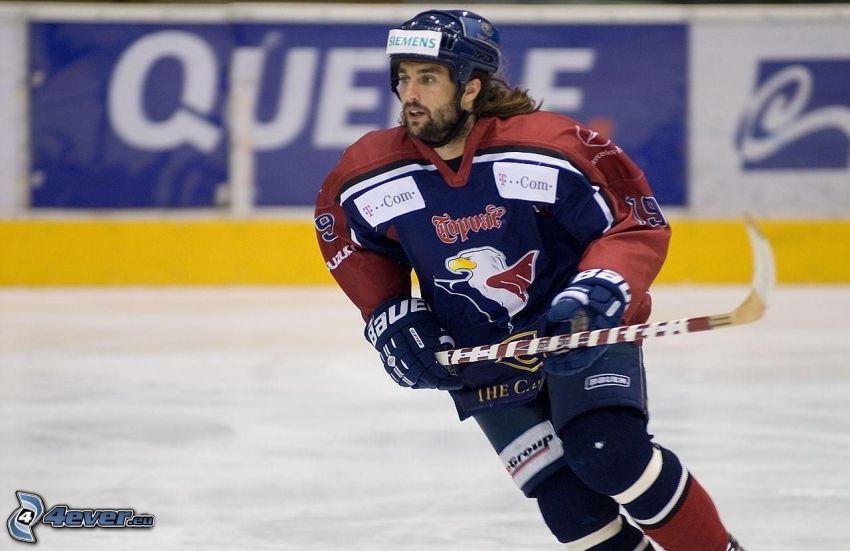 Marek Uram, giocatore di hockey