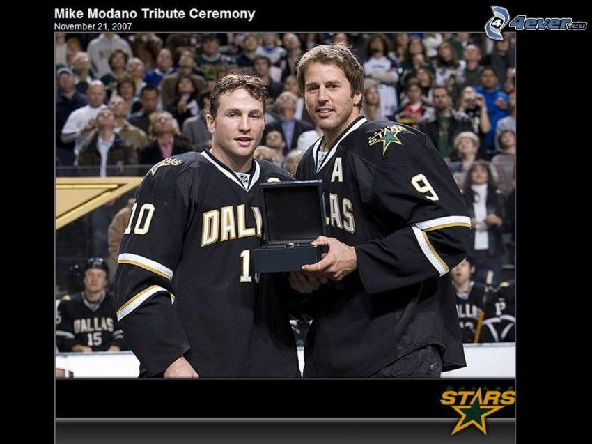 Mike Modano, Dallas stars, NHL