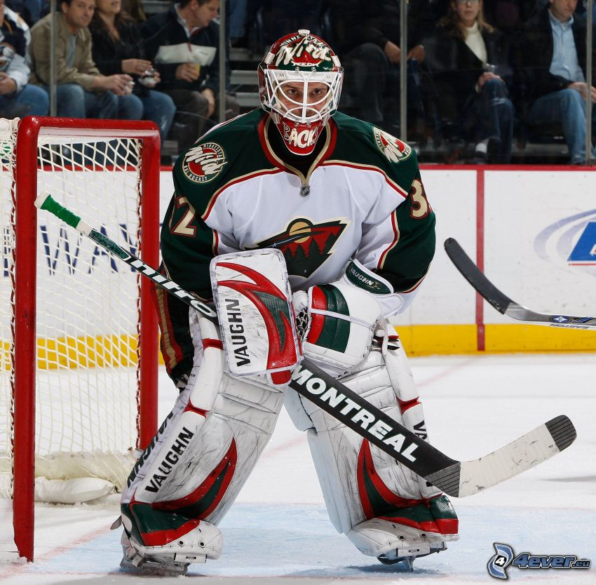Niclas Backstrom, goal, Montreal Canadiens