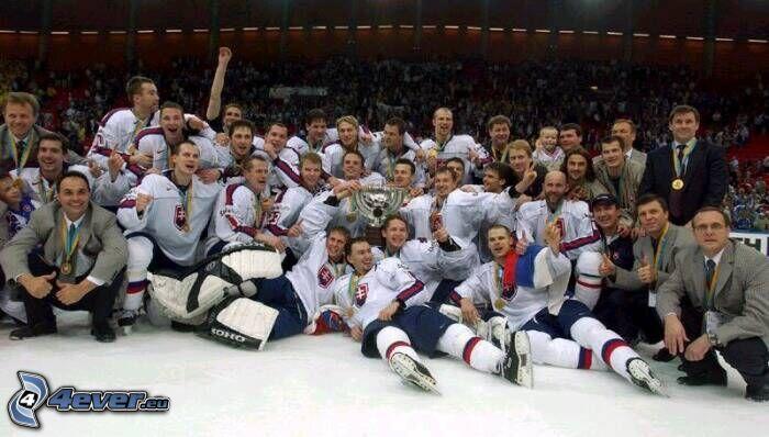 Squadra di hockey su ghiaccio slovacco