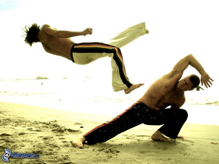 judo, spiaggia sabbiosa