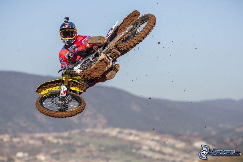 Ken Roczen, motocross, salto