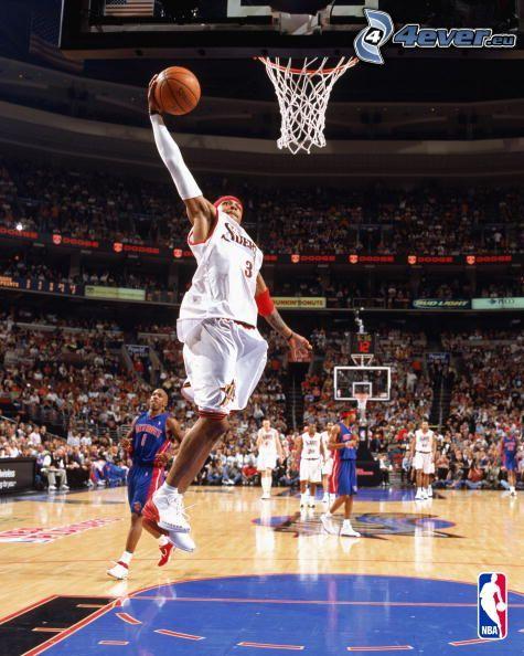 Allen Iverson, NBA, basket, cesto