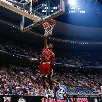 Michael Jordan, Chicago Bulls, NBA