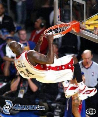 Shaquille O'Neal, cesto, pallacanestro
