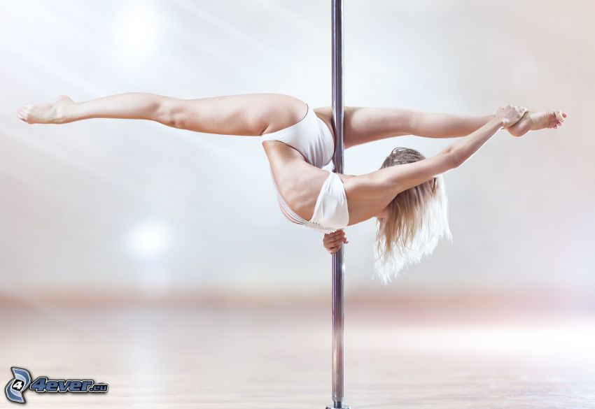 pole dance, La spaccata