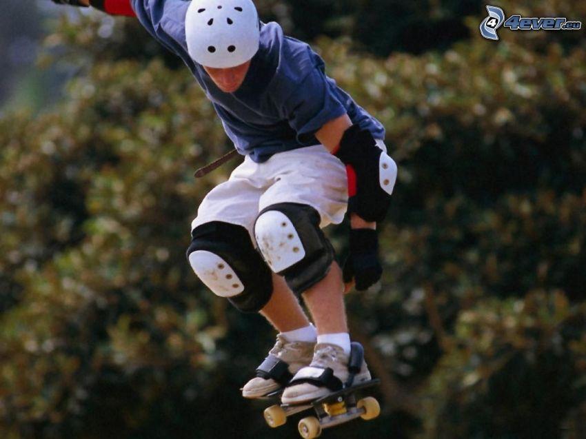 skateboard, salto