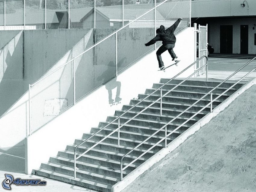 skateboard, scale, adrenalina