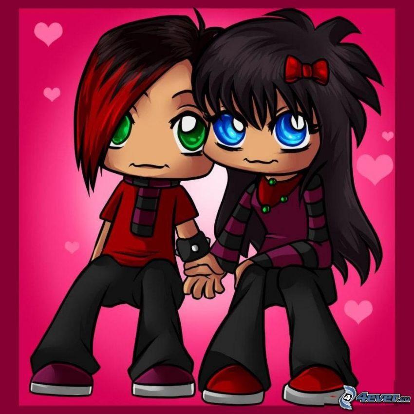 emo coppia