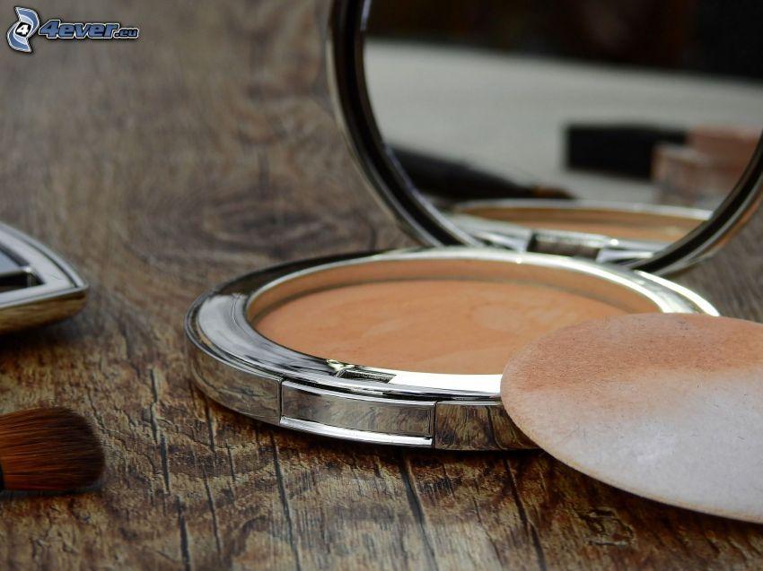 make-up, specchio