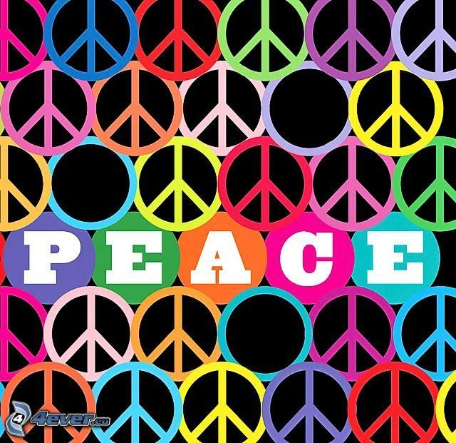 peace, pace